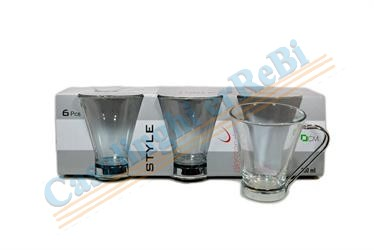 TAZZA CAFFE C/6 80ML 051906