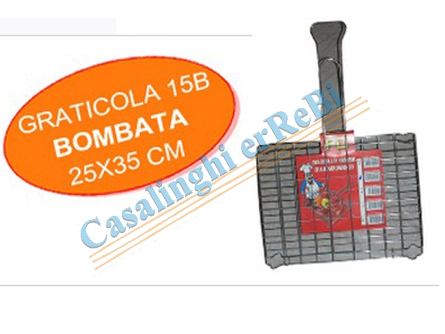 *GRATICOLA 15/B 25X35 INCROCIATA