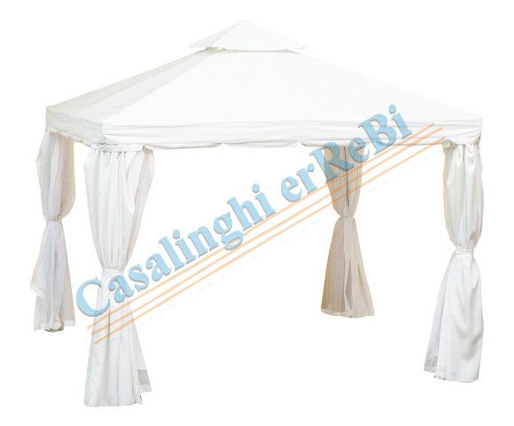 GAZEBO BIANCO ALL.3X4 TENDA    eZA
