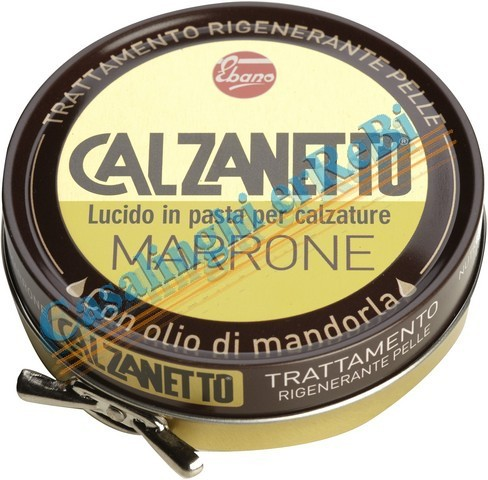 CALZANETTO LUCIDO ML.50 MARRONEAC2