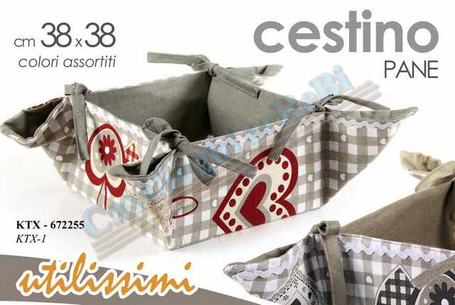CESTINO 20X20X10CM CUORE AS KTX-1