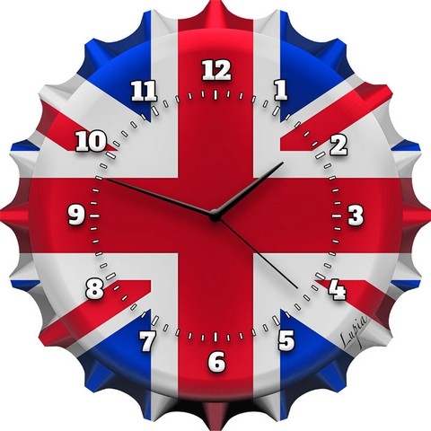 OROLOGIO LONDON\'S FLAG 30X30