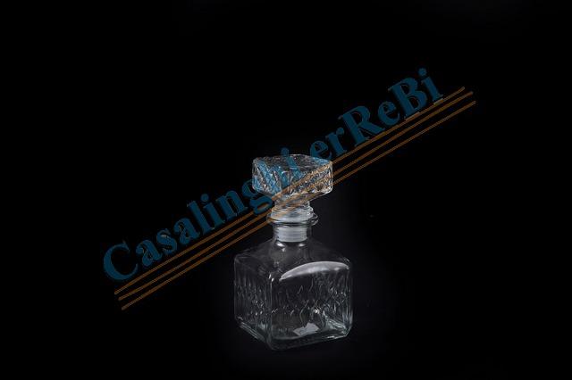 modellazione duratura diventa nuovo come acquistare Bottiglia brandy ice con tappo in vetro h cm 16 5x9x9 ml 400 ...