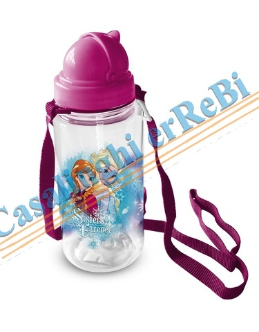 BORRAC PLASTICA FROZEN 450ML D7X20 46844