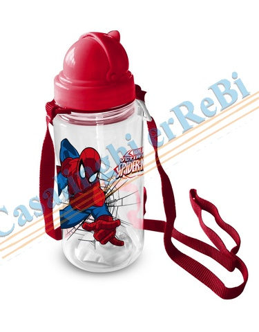 BORRAC PLAST SPIDERMAN 450ML D7X20 46849