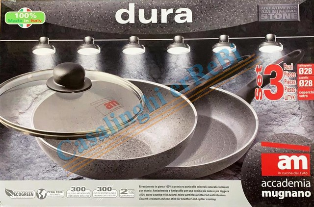 *DURA SET 3 PZ PAD.28 SALT.28+COP.28
